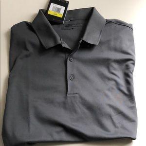 c1a1b7c24 Nike Shirts - Nike Golf Polo Grey Charcoal Dri-Fit Style 725518